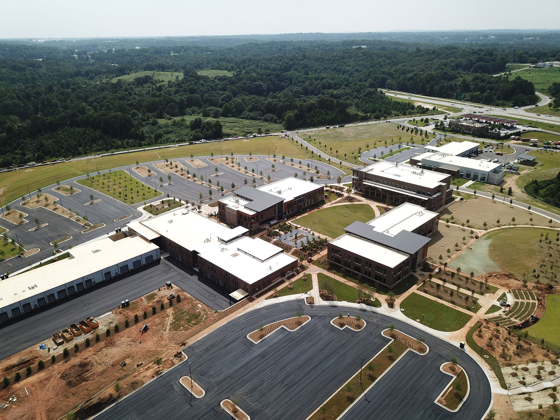 Lanier Technical College North Hall Campus A Prototype For The Campuses Of The Future A C Development Inc